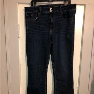 Hi Rise Artist Flare Jeans